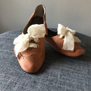 Leather flats from Nordstrom
